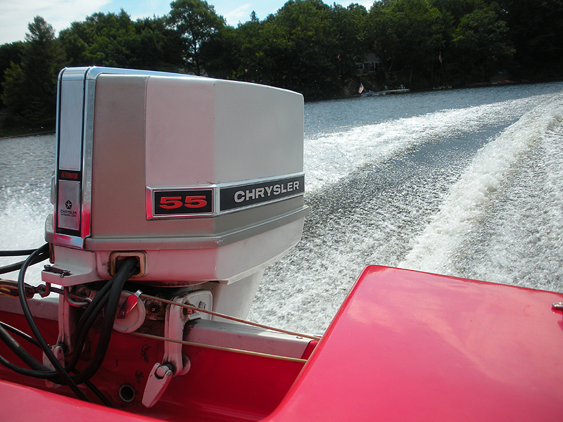 Chrysler outboard and marine, like their automobiles, was the industry standard in the seventies.