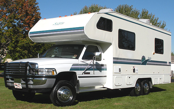 How In The Mid 1990s A Company Converted Dodge Heavy Duty Truck Chassies Into Class C Motorhomes